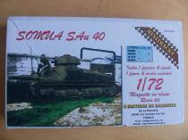 Somua SAu 40 1:72 Minitracks